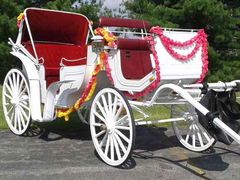 Eastern Indian Wedding Willow Wind Carriage Limousine Service